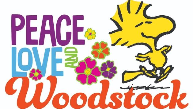 Peace, Love and Woodstock exhibit at the Charles M. Schulz Museum