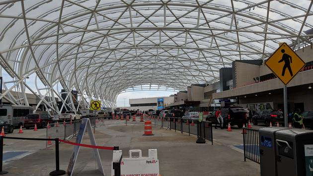 Construction at ATL Airport