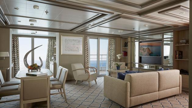 silversea guest room