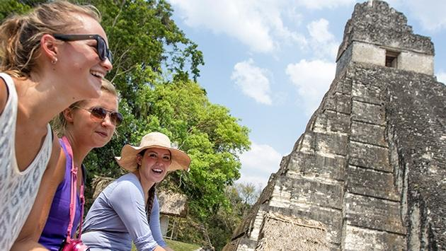 Tikal, Guatemala with G Adventures.