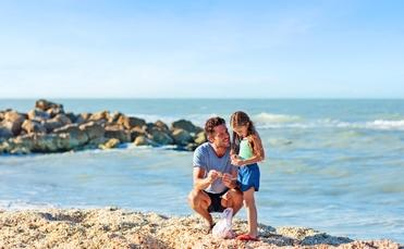 A shelling tour along the beaches of Fort Myers and Sanibel is the perfect family adventure