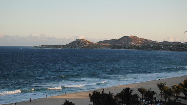 Sea views from San Jose del Cabo, Mexico