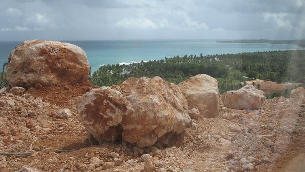 Coast of Samana Dominican Republic