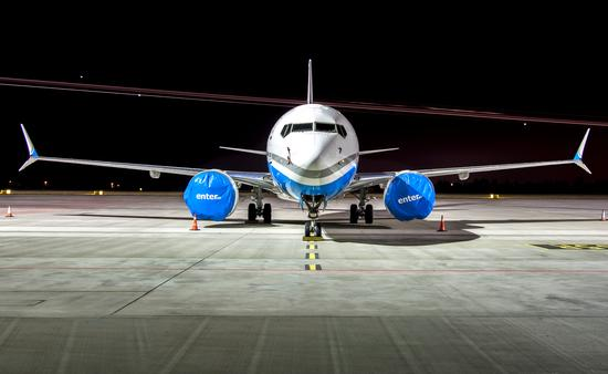 Grounded Boeing 737 MAX
