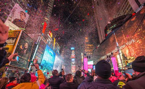 FAM TRIP: New Year's Eve in Times Square