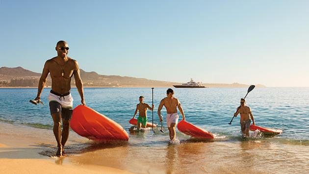 Breathless Cabo, paddleboarding