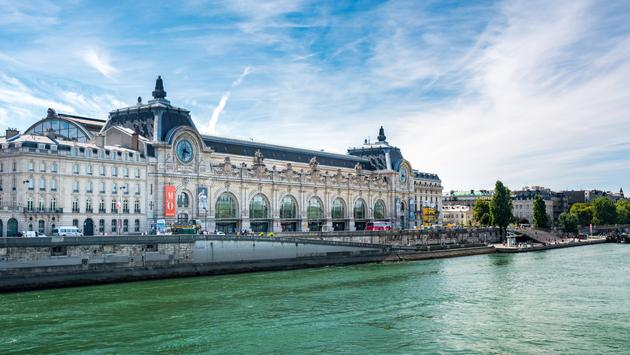 The Musée d'Orsay is located along the banks of the River Seine in Paris, France.