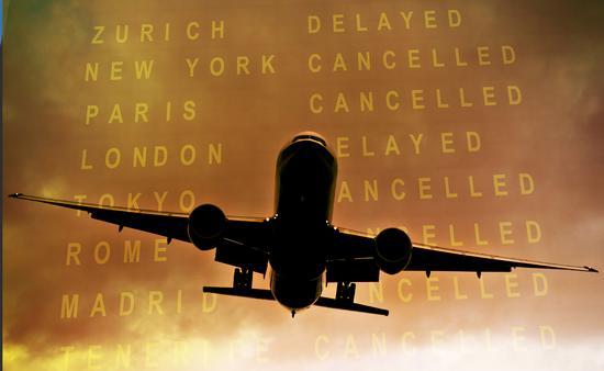 flights, canceled, plane