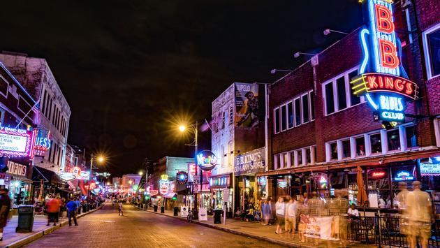 Beale Street, Memphis, TN
