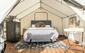 glamping, tent, hotel
