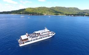 M/Y Pegasos in the Seychelles