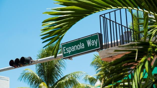Espanola Way, Miami Beach