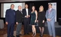 ency of the Year at UNIGLOBE Travel Eastern Canada's fall regional conference. L-R James McNair, regional president, UNIGLOBE Travel (Eastern Canada),  Gordon Miller & Cyrus Rustamji, owners, UNIGLOBE The Premiere Travel Group, Leanne Dennis, owner, UNIGLOBE Travel (Eastern Canada), Kathi Moran, manager, UNIGLOBE The Premiere Travel Group, Frank Dennis, owner, UNIGLOBE Travel (Eastern Canada)