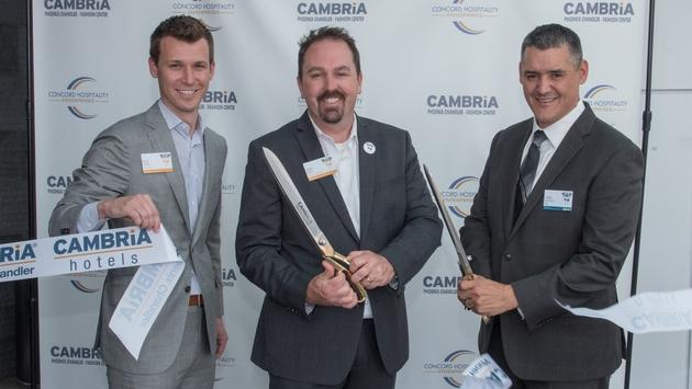 Αποτέλεσμα εικόνας για Cambria Hotels celebrates grand opening in Chandler, Ariz.