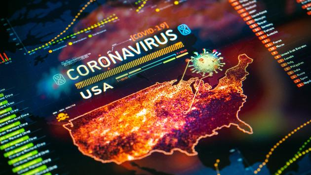 Dashboard of COVID-19 pandemic in the U.S.