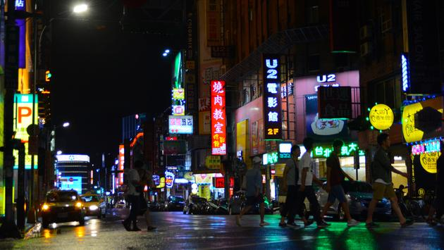 Ximending District (Photo: Gabriel Ancti)l