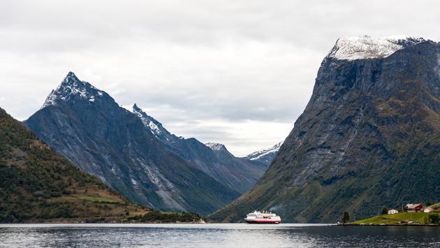 Hurtigruten en Norvège