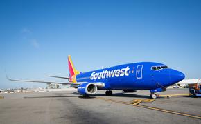 Southwest Airplane (Photo via Southwest)