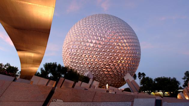 Epcot, Disney, spaceship earth