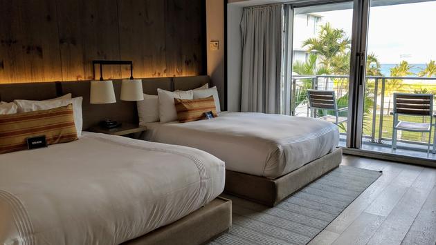 Guestroom of Hotel Victor, South Beach, Miami, FL