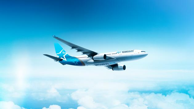 Avion d'Air Transat