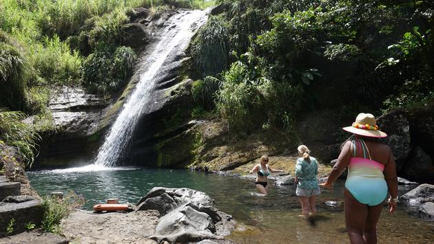 waterfall / Grenada