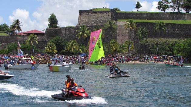 Jet ski in Fort de France Martinique