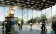 Rendering of the Statue of Liberty Museum