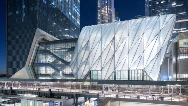 The Shed in Manhattan's Hudson Yards