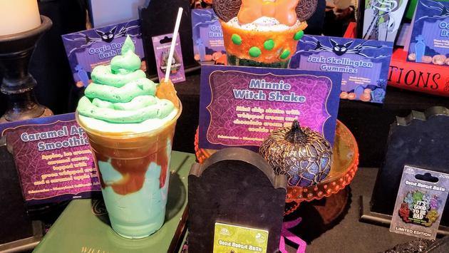 Disneyland Resort's frosty new beverage options for Halloween.
