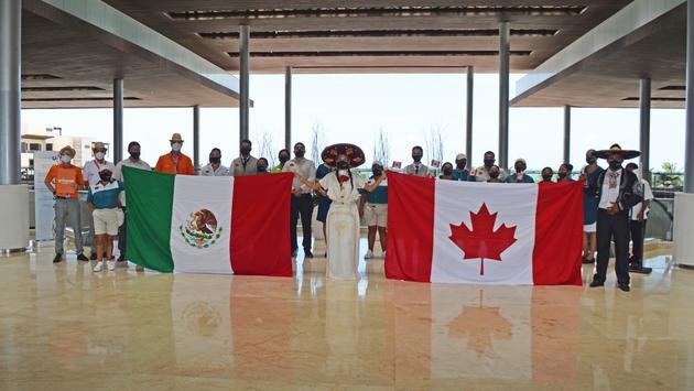 Sunwing accueille ses premiers clients à Cancun