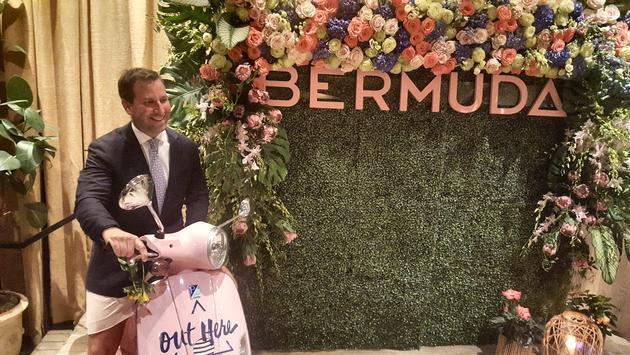 Kevin Dallas, Bermuda Tourism Authority