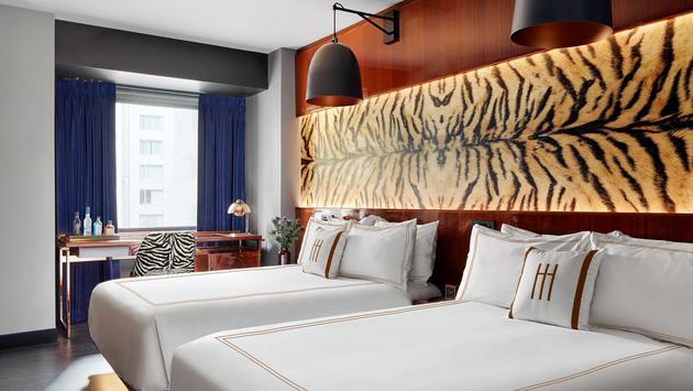hotel room, glamour, interior design