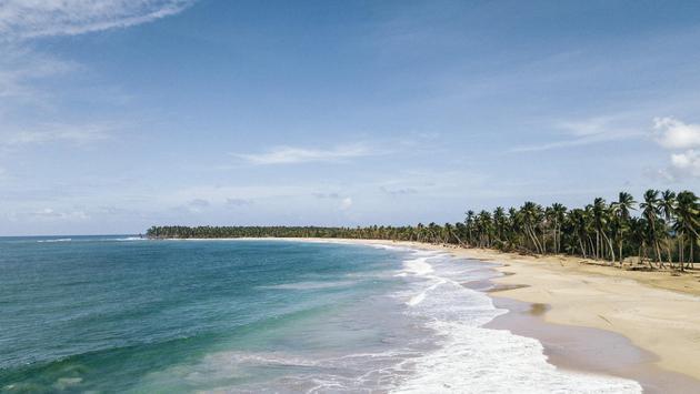 Beach at Club Med Miches Playa Esmeralda