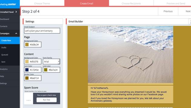 Marketing Center screenshot