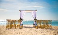 Wedding set up at Hotel Riu Palace Aruba