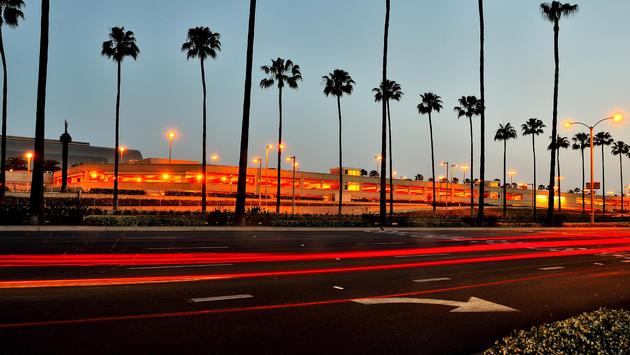 John Wayne Airport in Orange County, California
