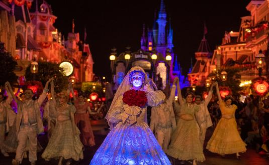 Boo-to-You Halloween Parade at Walt Disney World's Magic Kingdom