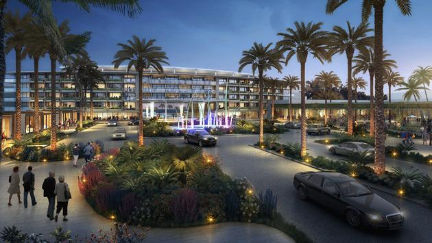 Rendering of Caesars Entertainment Los Cabos property