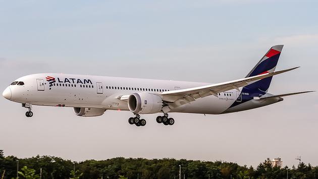 LATAM Airlines jet