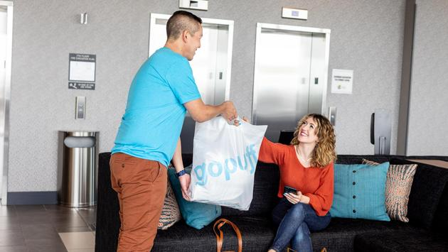 The Hyatt Place brand teams with Gopuff.