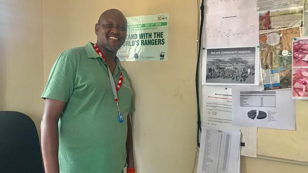 Daniel Ole Sambu, Director of Conservation, Big Life Foundation