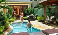 65% Off Rack Rate: Millionaire Honeymoon One Bedroom Butler Suite with Private Pool Sanctuary