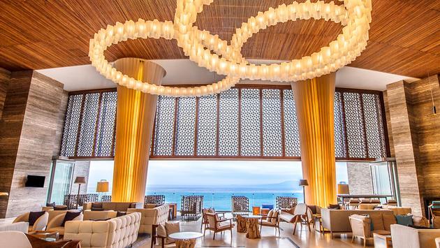 The Lobby of the Hilton Vallarta Riviera All-Inclusive Resort