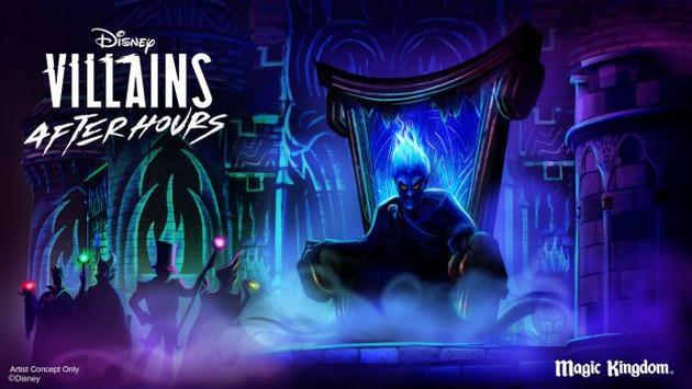 Disney, villains, world