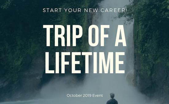 The Travel Institute's TRIP of a Lifetime October promotion.