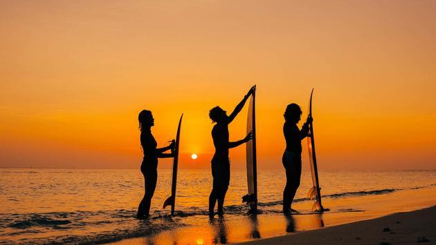 Soneva Sustainable Surf Program