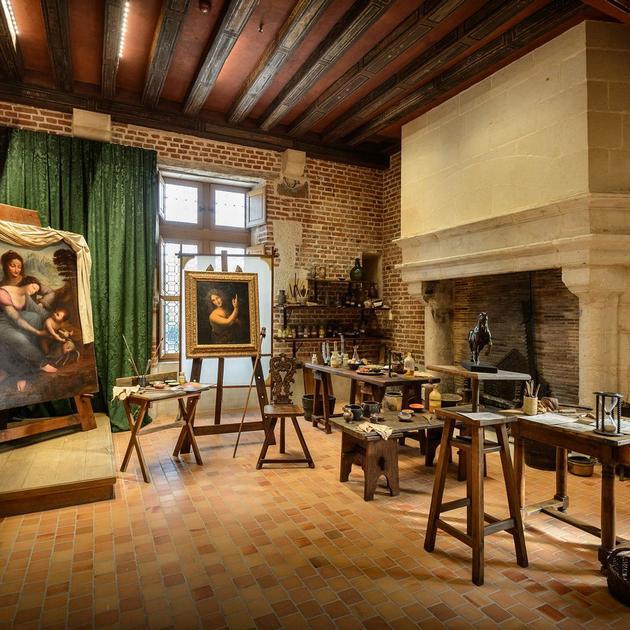 Atelier de Leonard de Vinci