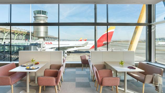Iberia's Velazquez Premium Lounge at Madrid Airport