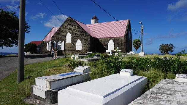 St. Thomas' Church on Nevis